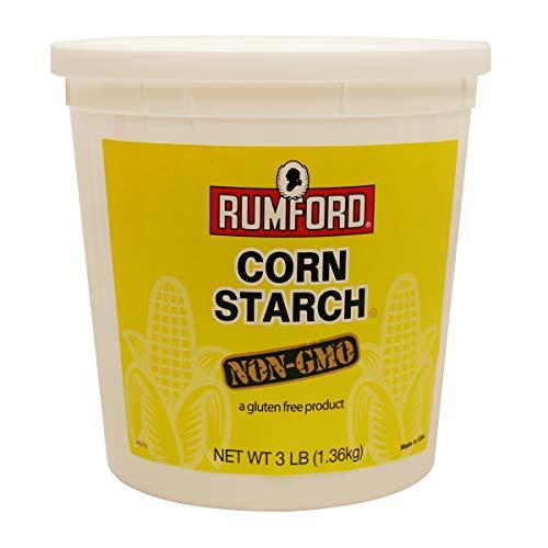 Rumford Corn Starch - Non GMO - 3 Lbs.