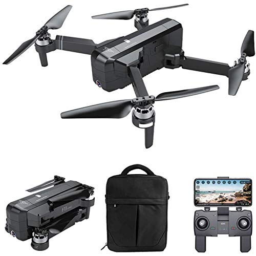 MRSDBTL GPS Drone, 5G WiFi FPV Brushless Drone with Camera 2K 120° Wide Angle Selfie, Follow Me, Headless Mode, Altitude Hold, Foldable RC Quadcopter with Handbag,1 Battery