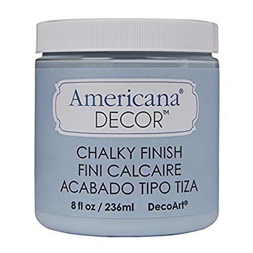 Deco Art ADC-18 Americana Chalky Finish Paint, 8-Ounce, Serene