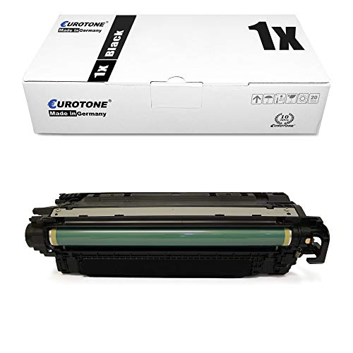 1x Eurotone kompatibler Toner für HP Color Laserjet Enterprise CP 4025 4525 xh DN DN n N ersetzt CE260A 647A