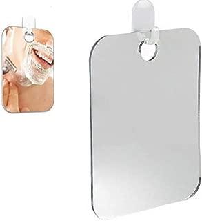 Alelife Anti Fog Shower Mirror Bathroom Fogless Fog Free Mirror Washroom Travel