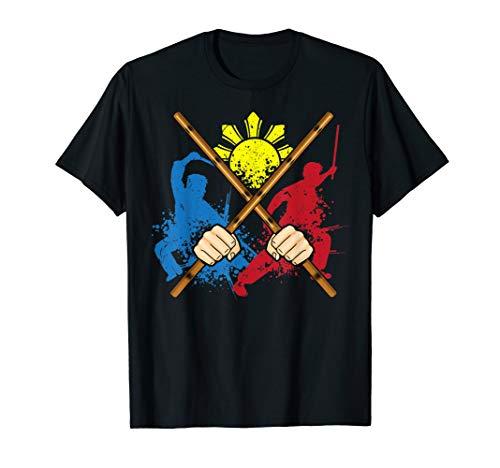 Eskrima Arni Kali Martial Arts Philippines.Filipino Design T-Shirt
