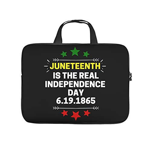 Hothotvery Juneteenth Real Independence Day 1865 - Bolsa impermeable para portátil
