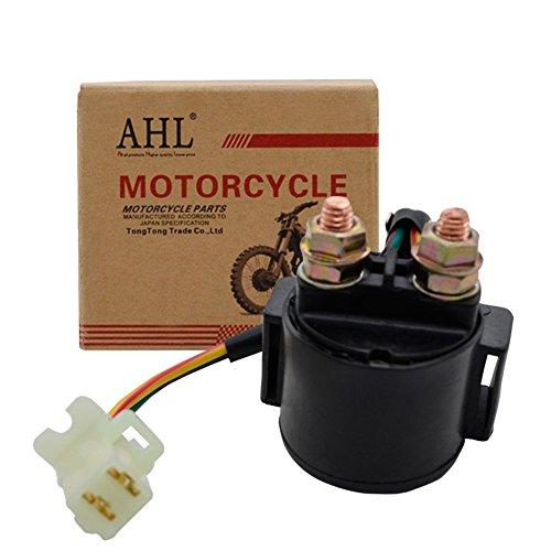 AHL- Motocicleta Solenoide Relé De Arranque para HYOSUNG GT125 GT250 GT650 GT125R GT250R GT650R