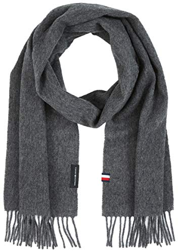 Tommy Hilfiger Herren Uptown Wool Scarf Winter-Zubehör-Set, Faded Indigo, OS