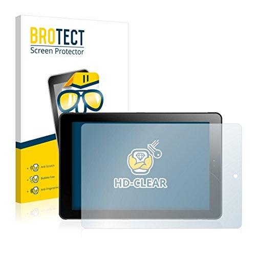 2X BROTECT HD Clear Bildschirmschutz Schutzfolie für Odys Windesk 9 Plus 3G V2 (kristallklar, extrem Kratzfest, schmutzabweisend)