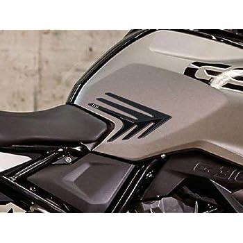 2 Protections Lat/éral R/éservoir Stickers 3D compatible avec BMW R1200R 2015-19
