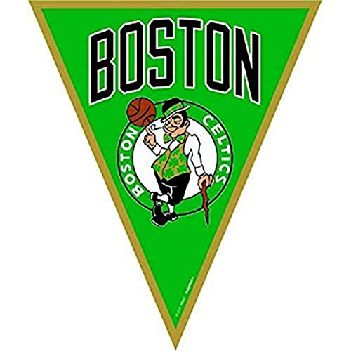 'Boston Celtics NBA Collection' Pennant Banner, Party Decoration