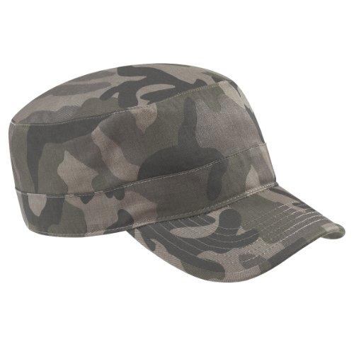 Beechfield - Casquette camouflage style armée 100% coton (Taille unique) (Champs)