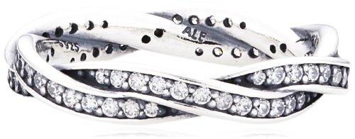 Pandora Damen-Ring 925 Silber Zirkonia transparent Gr. 50 (15.9) - 190892CZ-50