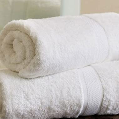 OrganicTextiles Organic Premium Cotton Bath Towel; Durable, Soft, Extra Absorbent, Premium Quality GOTS Certified Organic Cotton; Enhanced Luxury For Every Bath Décor