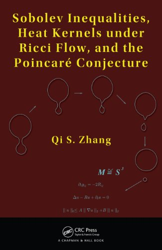 Sobolev Inequalities, Heat Kernels under Ricci Flow, and the Poincare Conjecture (English Edition)