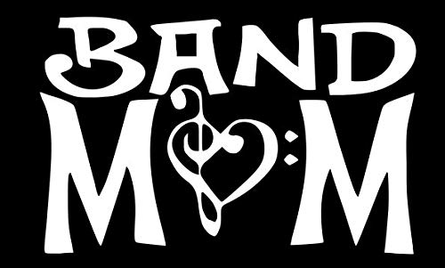 Home Grown Claremore Band Mom - Vinyl Decal Sticker - Multiple Sizes and Colors (White, 5.5