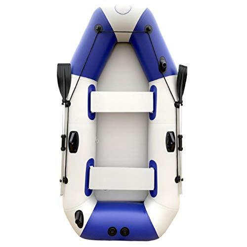 NL 2-Person aufblasbares Kajak-Set, dick elektrisches bewegliches Folding aufblasbares Boot, for Wassersport Pool Angeln