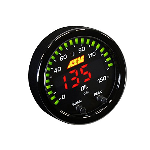 AEM 30-0307 X-Series Oil Pressure Gauge