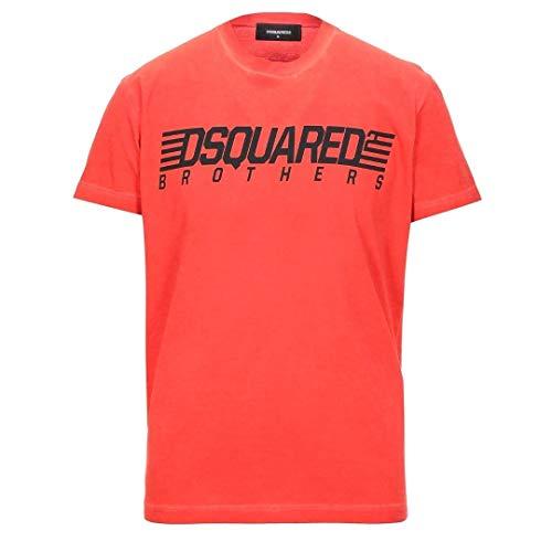 DSQUARED2 Logo Cool Fit playera - Naranja - Large