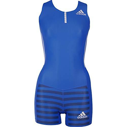 Adidas Adizero - Traje de carreras para mujer, color azul, color azul, tamaño XXS