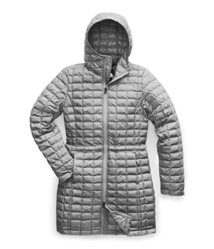 The North Face Women's Thermoball Eco Parka, TNF Medium Grey Heather, M