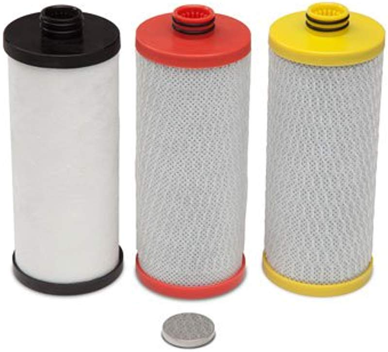 Aquasana AQ 5300R 3 Stage Under Sink Water Filter Replacement Cartridges