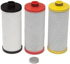 Aquasana AQ-5300R 3-Stage Under Sink Water Filter Replacement Cartridges