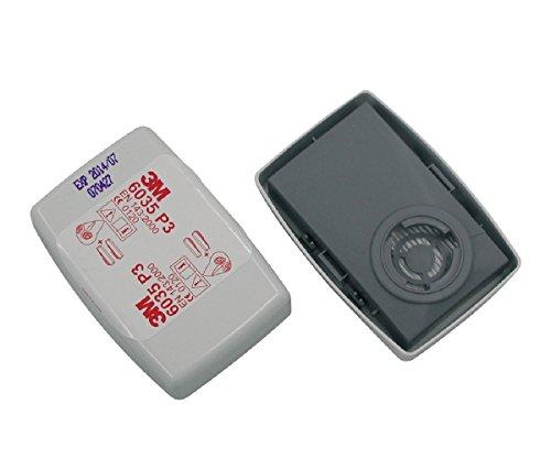 3M 6035 P3R Partikelfilter, 1 Packung mit 2 Einheiten