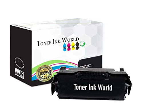 TIW Lexmark 601H, 601H00 Replacement Black Toner Cartridge for Lexmark MX310dn, MX310, MX410, MX410de, MX510, MX510de, MX610, MX610de Printers High Yield 10,000 Pages Printing, Home or Commercial Use.