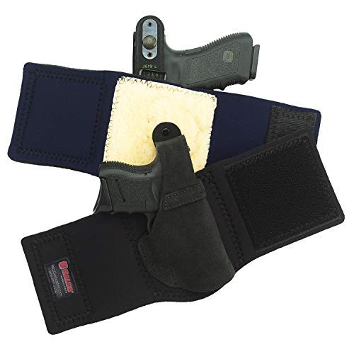 Galco Ankle Lite RH Holster Compatible with Ruger LCR 38 Black