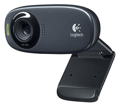 Logitech HD Webcam C310 Black USB Connection, 960-000638 (USB Connection)