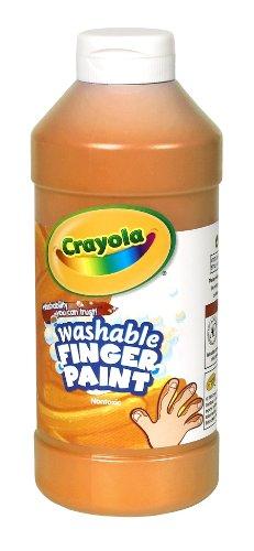 Crayola Fingerpaint Orange 32 Ounces Washable Kids Paint Ages 3 Model: 551332036