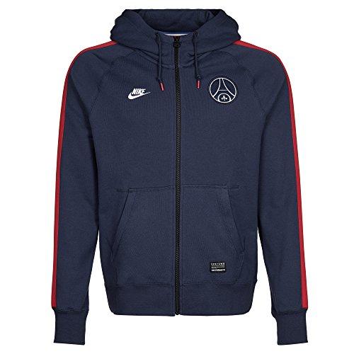 Nike Herren Pullover Sportswear AW77 Paris Saint-Germain Covert Longsleeve, Blau, L