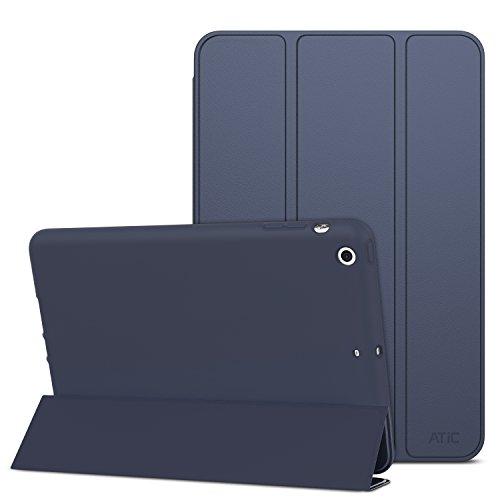 Atic Smart Shell Funda con Carcasa de TPU para Apple iPad Mini 321. Azul añil