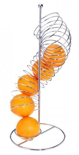 Edler Obstkorb - Aufbewahrung für Obst Spirale Spender Orangenhalter