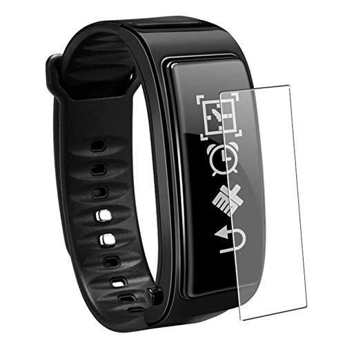 Vaxson 3 Stück Schutzfolie, kompatibel mit Smartwatch smart watch Y3 plus, Displayschutzfolie Bildschirmschutz Blasenfreies TPU Folie [nicht Panzerglas]
