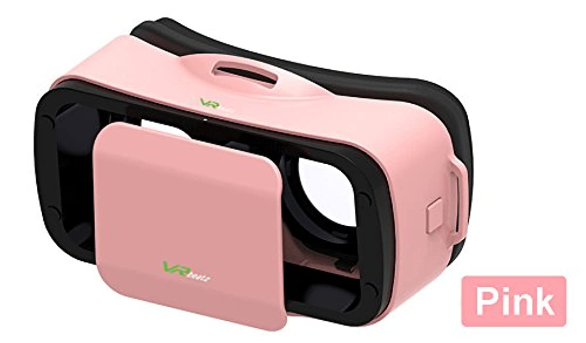 VR Headset V3 - Deep Immersive Virtual Reality Experience on 3D Movies & Games, Mini Compact Light Weight & Comfortable, fits iPhone Samsung Galaxy hjtqisdthgp2
