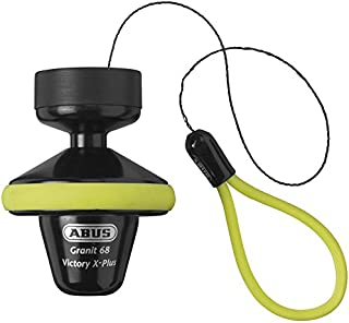 ABUS Granit Victory X-Plus 68 Disc Lock w/Rollup - 14mm/Hi-Visibility Yellow