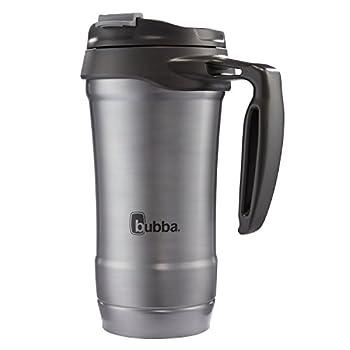 bubba Hero Dual-Wall Vacuum-Insulated Stainless Steel Travel Mug 18 oz Gunmetal