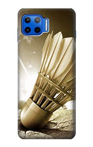 Innovedesire Badminton Sport Art Hülle Schutzhülle Taschen für Motorola Moto G 5G Plus