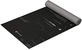Gaiam Yoga Mat - Premium 6mm Print Extra Thick Non Slip Exercise & Fitness Mat for All Types of Yoga, Pilates & Floor...