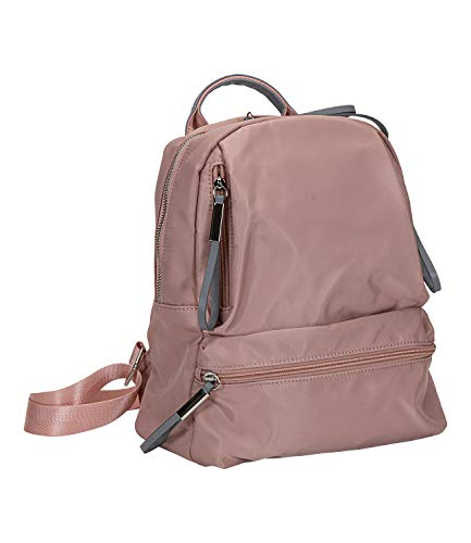 SIX Komfortabler Rucksack in Leder-Optik, funktionaler Allrounder, Verstellbarer Schultergurt, viele Taschen (539-467)
