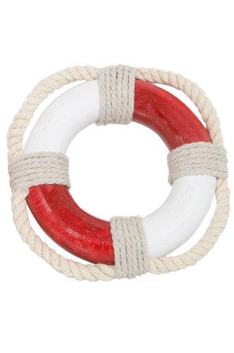 mare-me Rettungsring Deko, mini rot weiß