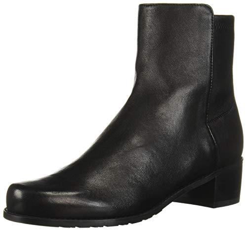 Stuart Weitzman Women's EASYON RESERVE Chelsea Boot, Black Dress Str Nappa, 7 Medium US