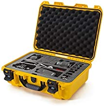 Nanuk 925 Waterproof Carry-on Hard Case with Foam Insert for Canon, Nikon - 1 DSLR Body and Lens/Lenses - Yellow