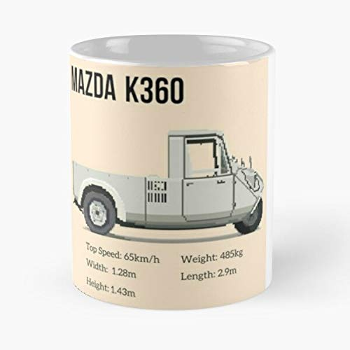 5TheWay Mazda Mug Design K Best 11 oz Kaffeebecher - Nespresso Tassen Kaffee Motive