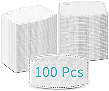 100-Piece Burlway PM2.5 Activated Carbon Filters
