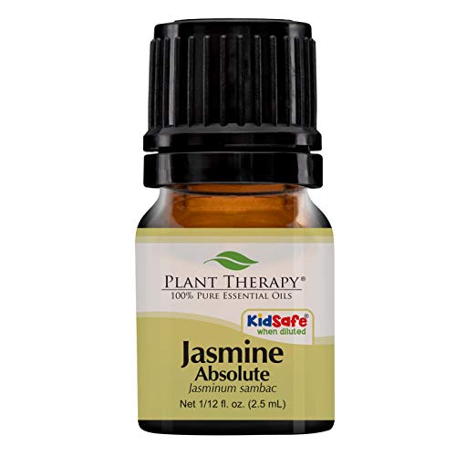 Plant Therapy Jasmine Absolute 2.5 mL (1/12 oz) 100% Pure, Undiluted, Therapeutic Grade