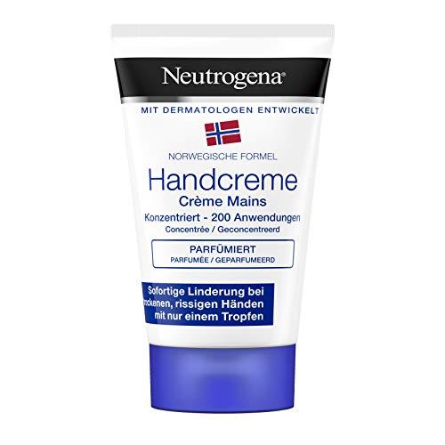 Neutrogena Norwegische Formel konzentrierte Handcreme für sehr trockene Hände, parfümiert, 50ml