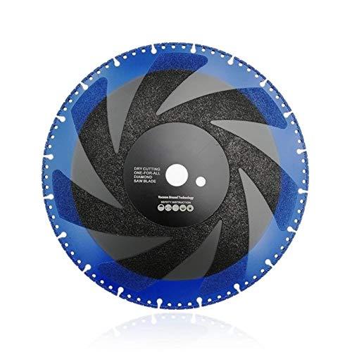 "SHENYF-Hua 2pcs 300mm Vacuum Brazed Diamond Blade for All Purpose for Stone Iron Steel 12"" Demolition Blade"