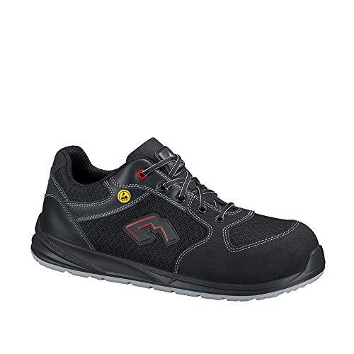 Lemaitre WINNS1PNR S1P ESD - Zapatos de seguridad bajos, color negro, talla 43