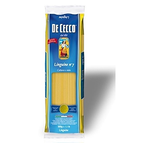 Nudeln Pasta Linguine n° 7 5 x 500 gr. - De Cecco