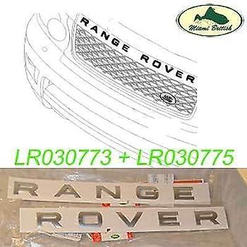 DAB500050LQV DAB500080LQV LAND ROVER NAME PLATE HOOD DECAL LR3 AFTERMARKET